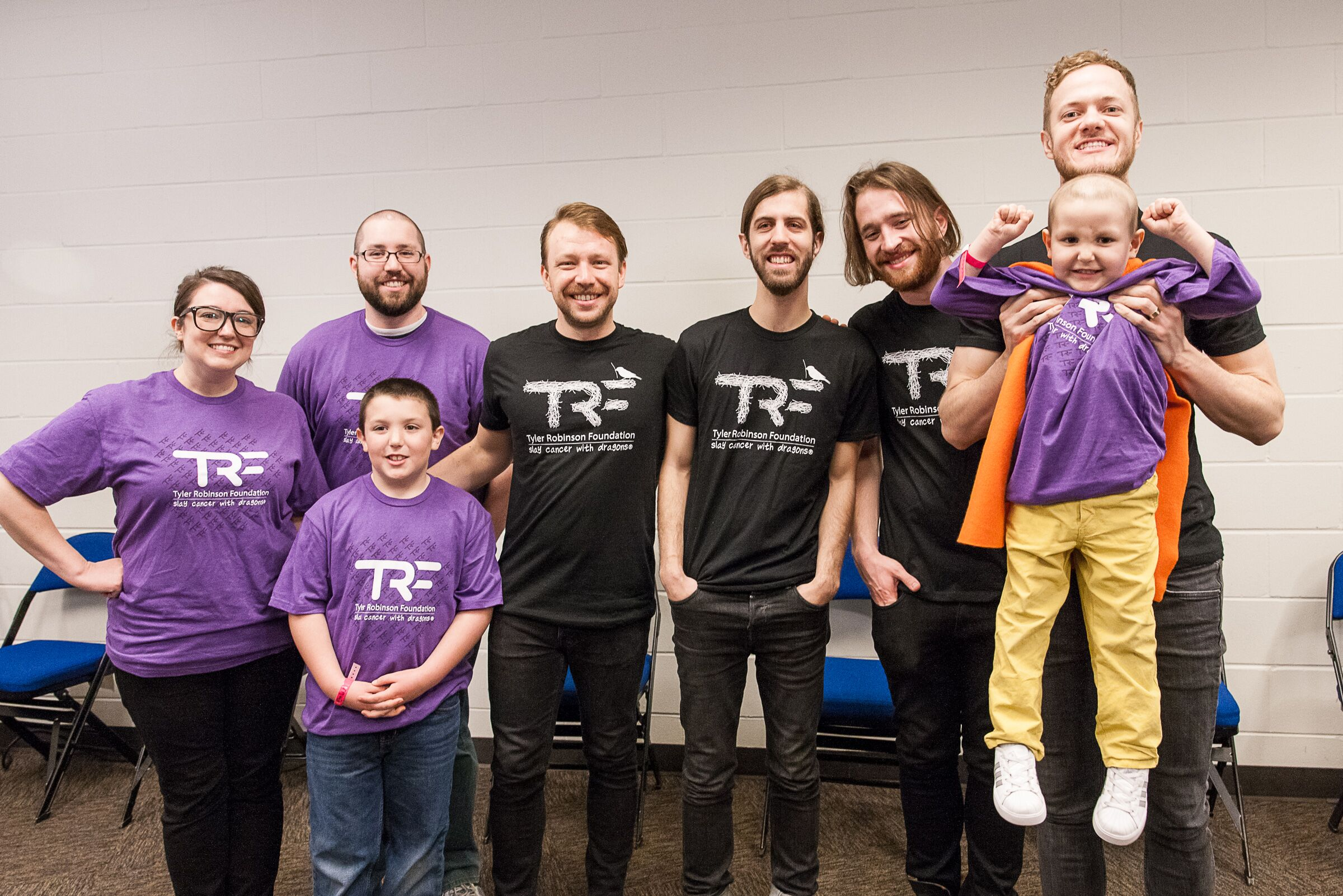 Imagine Dragons and the Tyler Robinson Foundation